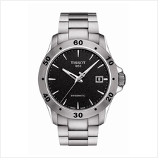 TISSOT T106.407.11.051.00 V8 SWISSMATIC black index