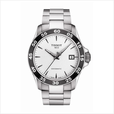 TISSOT T106.407.11.031.00 V8 SWISSMATIC silver index
