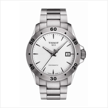 TISSOT T106.407.11.031.01 V8 SWISSMATIC silver index