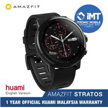 [ORIGINAL] Huami AMAZFIT Stratos Smartwatch - Black