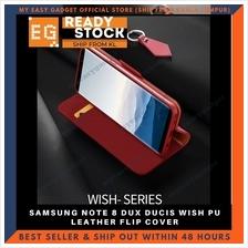 DUX DUCIS WISH PU LEATHER FLIP COVER FOR SAMSUNG NOTE 8