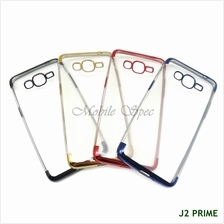 Samsung Galaxy J2 Pro J4 J6 2018 Electroplating Transparent TPU Case