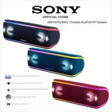Sony SRS-XB41 Portable Wireless Bluetooth Speaker Waterproof Dustproof)