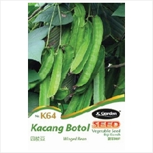 K64 WINGED BEAN VEGETABLE SEED BIJI BENIH KACANG BOTOL