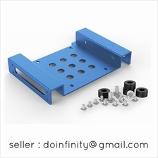 Orico 5.25 to 2.5 3.5 Inch Hard Disk Drive SSD HDD Mount Bracket Bay