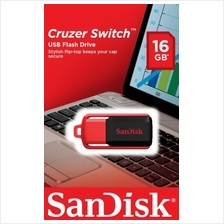 SANDISK Flash Drive USB2 CRUZER 52 SWITCH 16GB (SDCZ52-016G-B35) BLK