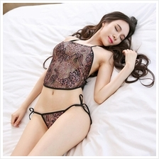 Emboidery Sexy Chinese Costume Bra + G-string Lingerie Sleepwear S318