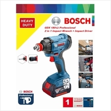 Bosch GDX 180-Li Cordless 2in1 Impact Driver/Wrench