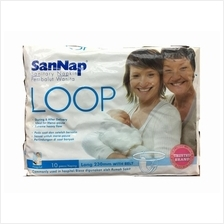 Sannap Loop Maternity Sanitary Napkin with Belt 10s (After Birth Use)