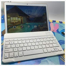 Wireless Bluetooth Keyboard with Charging Support Smartphone Tablet Desktop La