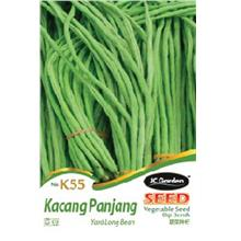 k55 yard long bean vegetable seed biji benih kacang panjang