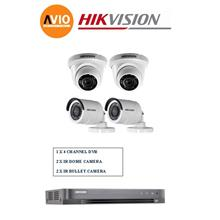 Hikvision 2MP 4Ch D0T Package A 1080P Full HD CCTV