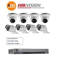 Hikvision 2MP 8Ch D0T Package B 1080P Full HD CCTV