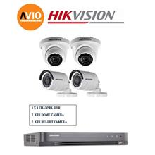 Hikvision 5MP 4Ch H0T Package A HD CCTV