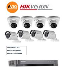 Hikvision 5MP 8Ch H0T Package B 1080P Full HD CCTV