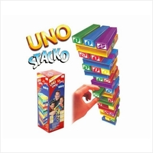 UNO STACKO Stacking Block Game/Toys/Family Game