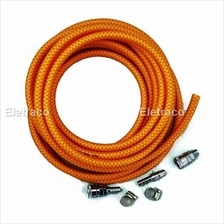 Air Compressor Hose with Quick Coupler Fitting, 7.5meter