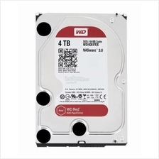 WESTERN DIGITAL HDD INT 3.5' NAS RED 4TB SATA3 64MB (WD40EFRX)