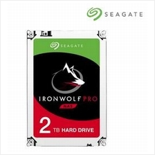 SEAGATE HDD INT Desktop NAS IRONWOLF PRO 2TB 128MB (ST2000NE0025)