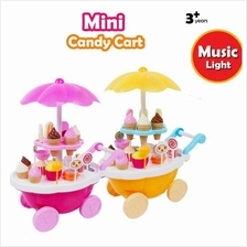Sweet Shop Luxury Candy Cart Toy Play Set Playset