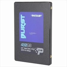 PATRIOT SSD 2.5' SATA3 BURST 480GB PBU480GS25SSDR R560 W540