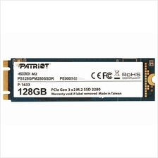PATRIOT SSD M.2 SATA3 SCORCH 128GB PS128GPM280SSDR R1700 W415