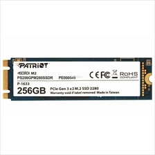 PATRIOT SSD M.2 SATA3 SCORCH 256GB PS256GPM280SSDR R1700 W480