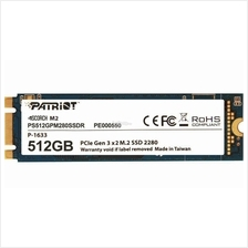 PATRIOT SSD M.2 SATA3 SCORCH 512GB PS512GPM280SSDR R1700 W950