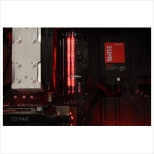 PATRIOT RAM Desktop DDR4 VIPER LED RED 16GB PC3000 PVLR416G300C5K