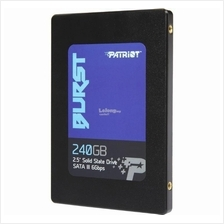 PATRIOT SSD 2.5' SATA3 BURST 240GB PBU240GS25SSDR R555 W500