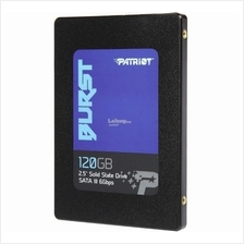 PATRIOT SSD 2.5' SATA3 BURST 120GB PBU120GS25SSDR R560 W540