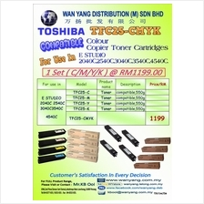 TOSHIBA  COLOR COMPATIBLE COPIER TONER CARTRIDGE FC-25