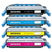 HP 642A CB400A + CB401A + CB402A + CB403A (4 Unit Full Set)