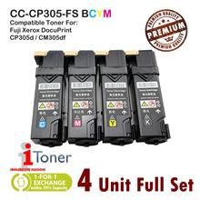 Fuji Xerox CP305 / CP305d / CM305 / CM305df (4 Unit Full Set)