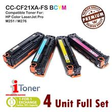 HP 131A CF210A + CF211A + CF212A + CF213A (4 Unit Full Set)