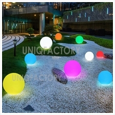 Rechargeable RGB LED Remote IP65 Ball Light Garden Landscape Outdoor