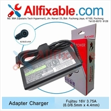Fujitsu 16V 3.75A Monte Carlo,Montegro,PenCentra,Point Adapter Charger
