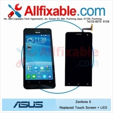 Asus Zenfone 5 Broken Crack Touch Screen + LED LCD replace change