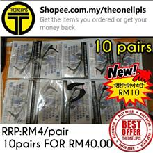 10 Pairs Black Colour Silicone Glasses Ear Hooks for RM40.00