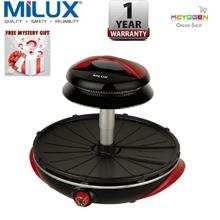 Milux Halogen Electric Barbecue Grill MEG-1200 -1 year Wrty