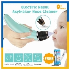 Rechargeable Baby Kids Electric Nasal Aspirator Nose Cleaner Suction