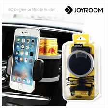 Joyroom Air Vent Car Mount with Drink Cup Holder Mobile Smartphone