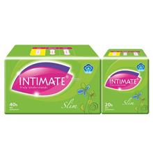 INTIMATE Slim Pantyliner 40s Free 20s