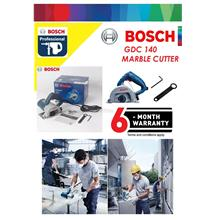 Bosch GDC 140 (115mm) 4' Marble Saw Cutter