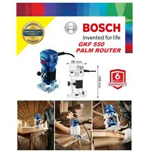 Bosch GKF 550W 6mm Palm Trimmer Router