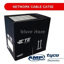 Network Cable CAT5E / CAT-5E AMP LAN / Network Cable (305 meters Grey)