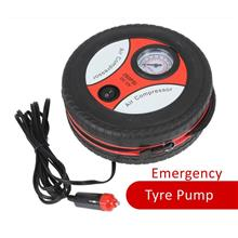 Portable Auto Car Tire Tyre Pump Inflator Mini Air Compressor 12V