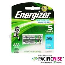 Energizer Recharge Universal Battery AAA (2 Pcs)