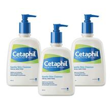 CETAPHIL Cleanser 3 x 500ml)