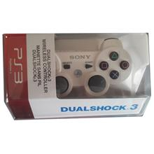 PS3 COMPATIBLE DUAL SHOCK 3 WIRELESS CONTROLLER WHITE